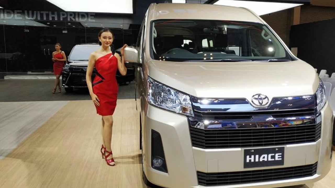 Model Terbaru Toyota HiAce Mejeng di GIIAS 2019